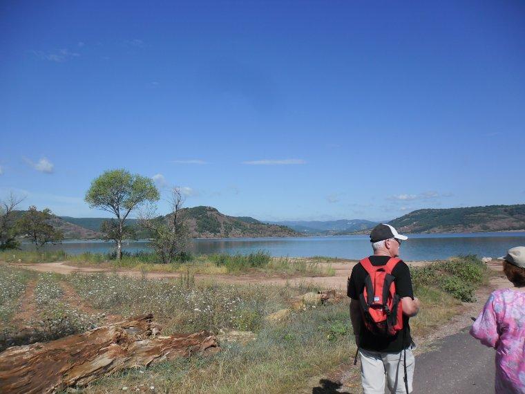 Le lac du Salagou dans l'Hérault 34