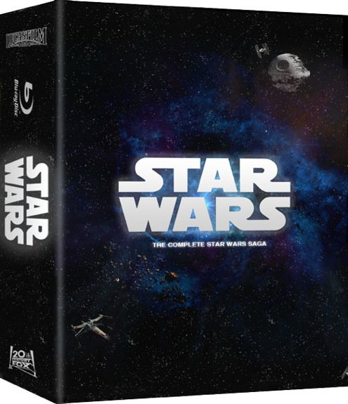Visuel du coffret Blu Ray Star Wars