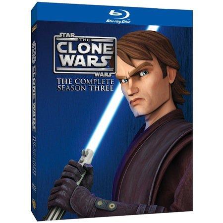 Visuel du Coffret DVD et Blu Ray de la saison 3 de The Clone Wars