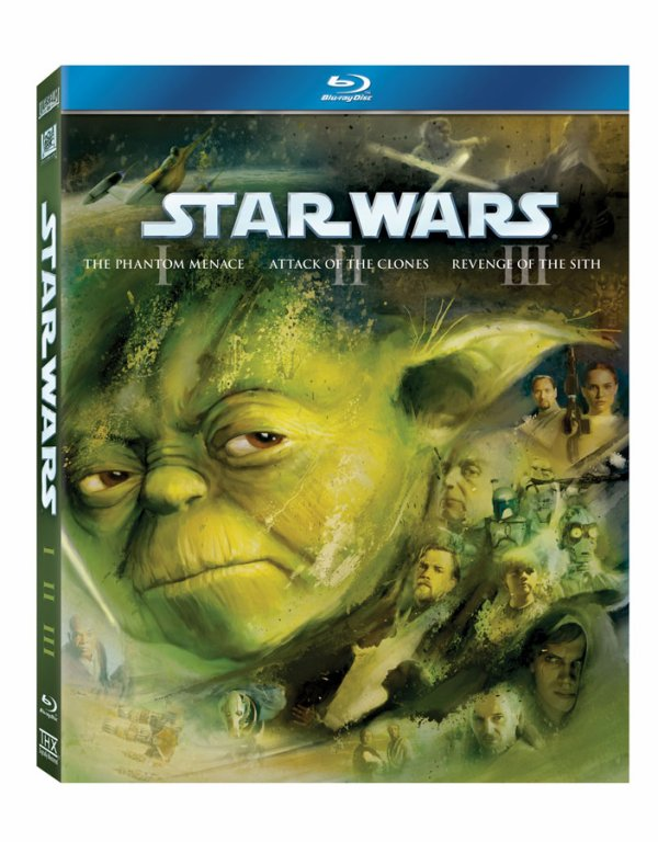 Visuel des coffrets Bluray de Star Wars