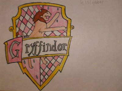 Dessin Gryffondor Miss Harry Potter189