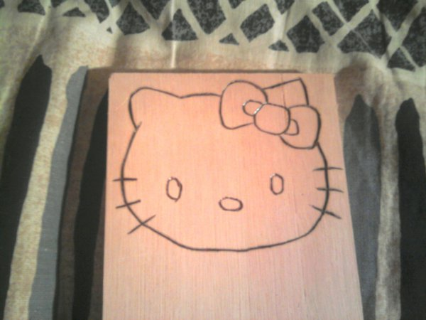 TETE HELLO KITTY