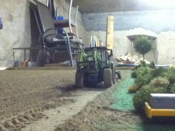 Préparation pour semi de blé 2012