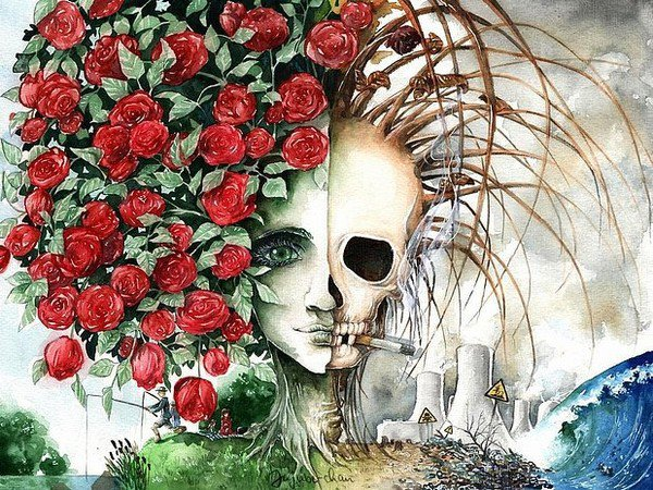 Mort et vivant