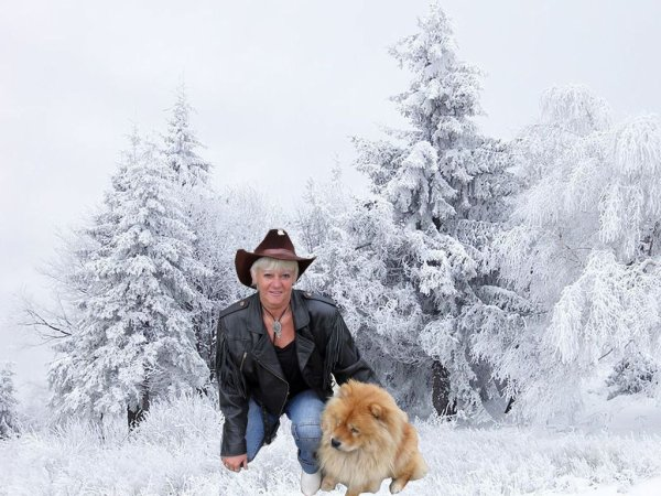 la belgique sous la neige....montage perso