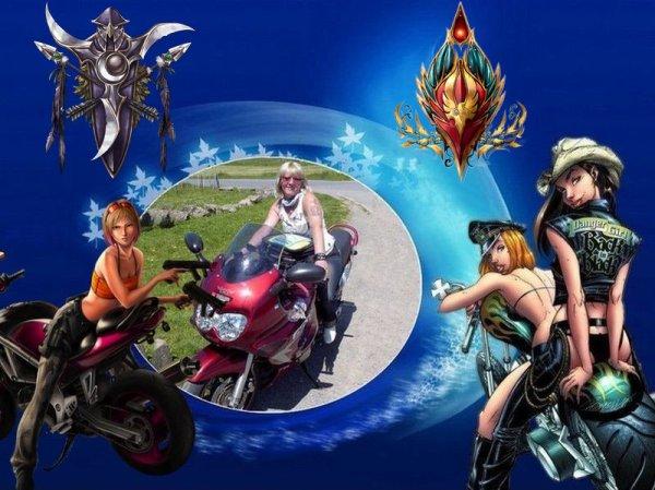Et oui soleil tout le week end certain était de sortie a moto ……
