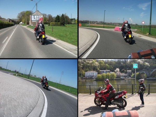 balade moto et visite du fort