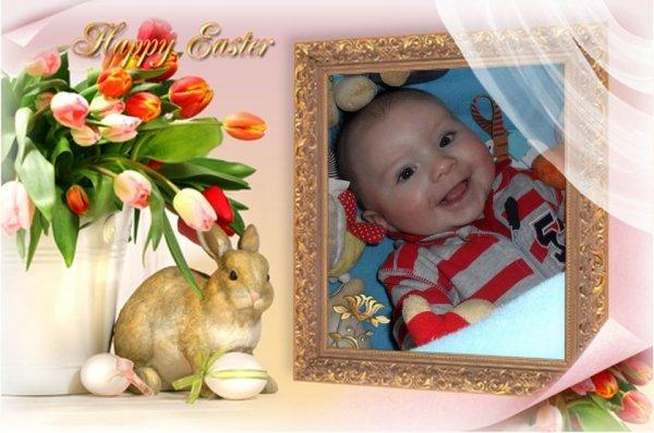 Joyeuses fêtes de Pâques a tous bissssssss de Ethan et moi