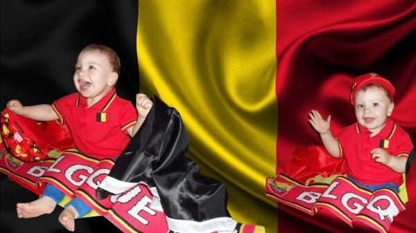Ethan ....supporter des diables rouges