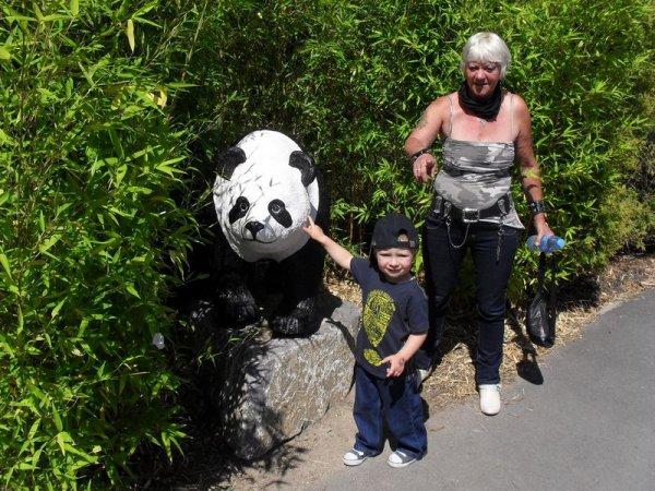 journée avec mon petit fils Ethan......
