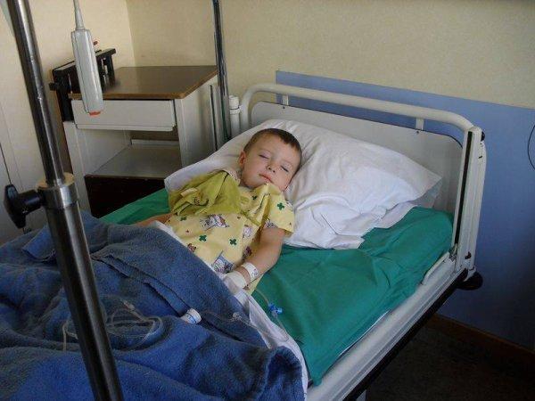 opération de mon petit fils Ethan