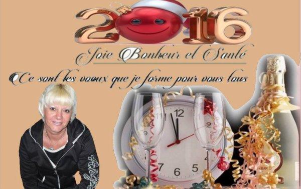 Bonne Année a tous et toutes ..........