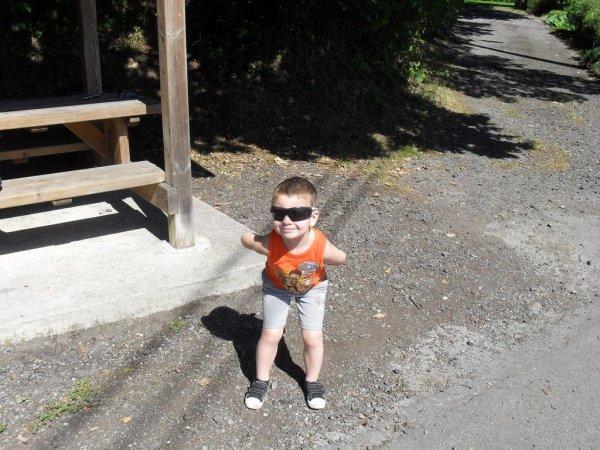 balade avec mon petit fils Ethan