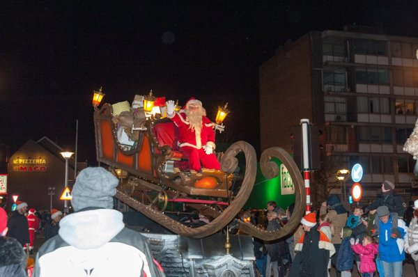 la Grande Parade de Noël RTL à Seraing: