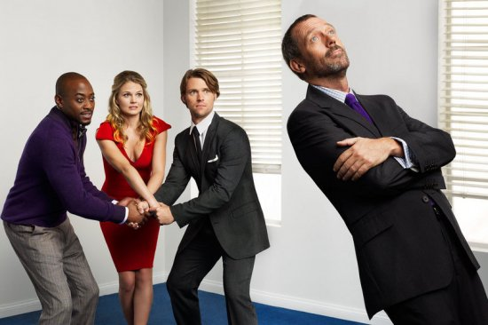 Jennifer Morrison, Jesse Spencer et le House Team