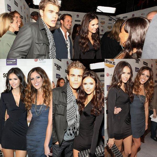 16/10/10 : Nina au Scream Awards