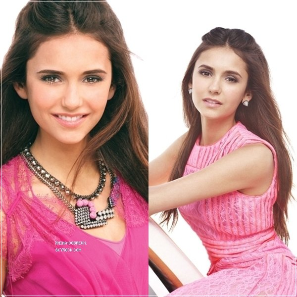 Nina Dobrev pour Teen Vogue
