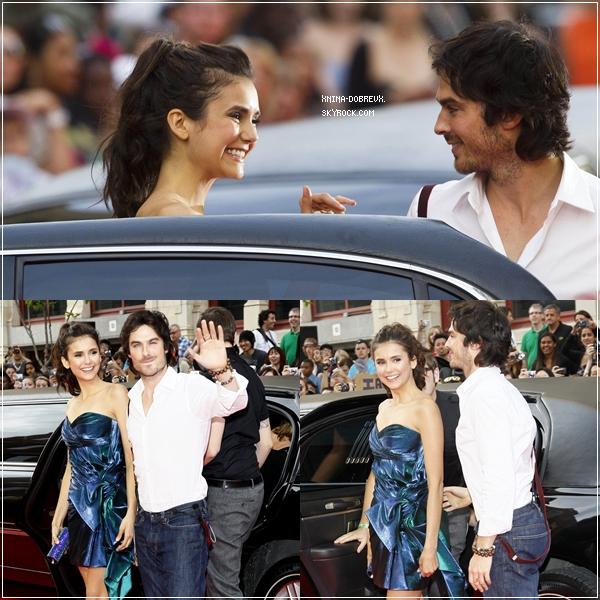 Nina Dobrev, était resplendissante lors des Much Music Video Awards 2011.
