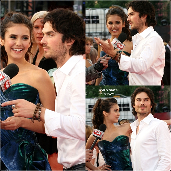 Nina Dobrev, était resplendissante lors des Much Music Video Awards 2011.