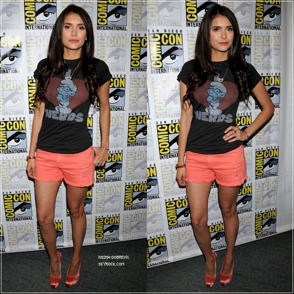 """Le 22 juillet, Nina était à la soirée """"Camp Playboy Party"""" organisée par le Comic-Con."""