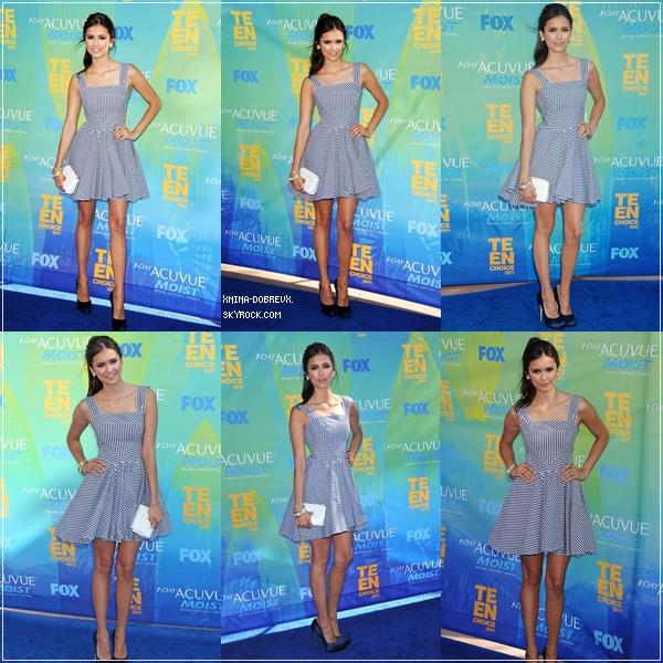 08/09 Teen Choice Awards 2011