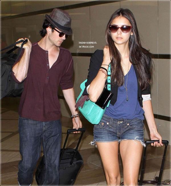Nina et Ian à LAX Airport
