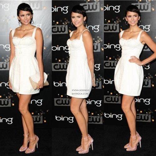 10.09.2011  Nina était présente à la fête organisé par la CW spécialement pour la rentrée