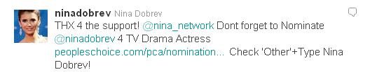 Soutenez Nina!!