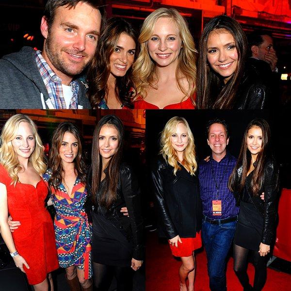 Nina était aussi  présente à la soirée organisé par Rolling Stone