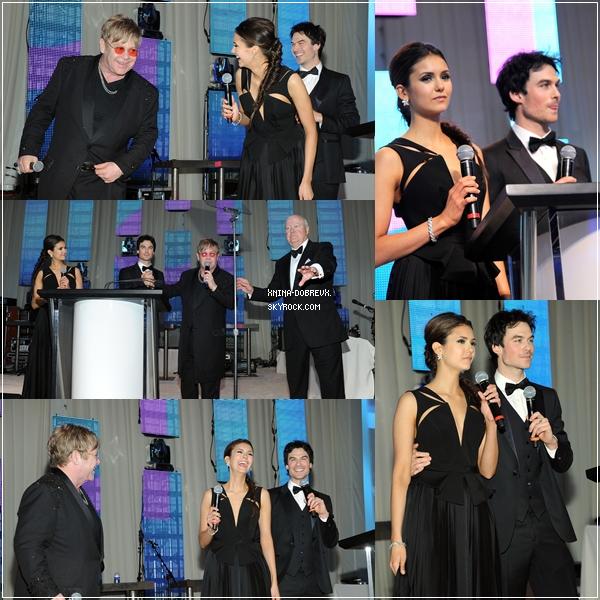 26/02/12   Nina était présente à la fête organisée par la Fondation Elton John AIDS à l'occasion de la 84éme Cérémonie des Oscars (Academy Awards).