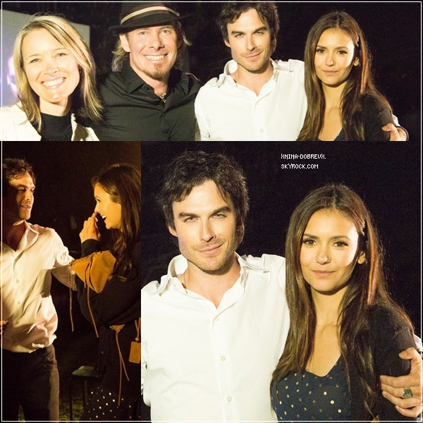 Nouvelles  photos de Nina & Ian à l'After-party.