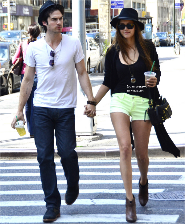 13/05/12  Nina et Ian  à New York.