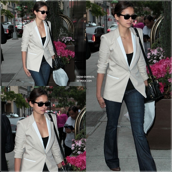 14/05/12 Nina arrivant à son hôtel.