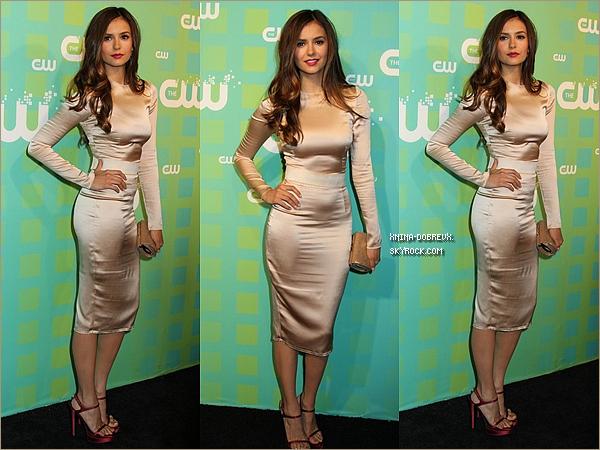 17/05/12 Nina au CW Upfronts.