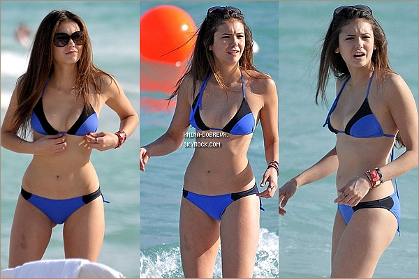 Flash Back: le 31mai 2010 Nina était à la plage de Miami  South Beach avec Candice.