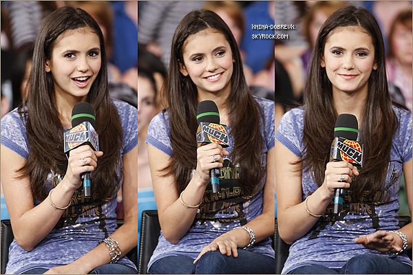 Flash Back: le 7 août 2008 Nina était au Much On Demand
