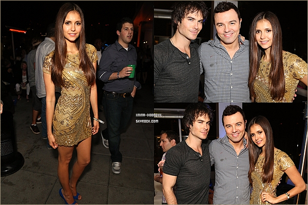 13/07        Nina& Ian étaient à la fête organisée par Maxim, FX et Fox .