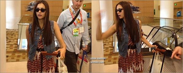 13/07        Nina & Ian à l'aéroport de San Diego.