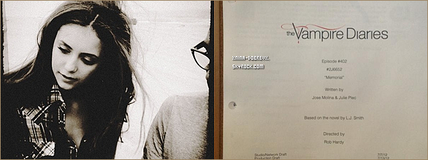 31/07       Nina en couverture de Fashion Magazine pour Septembre 2012