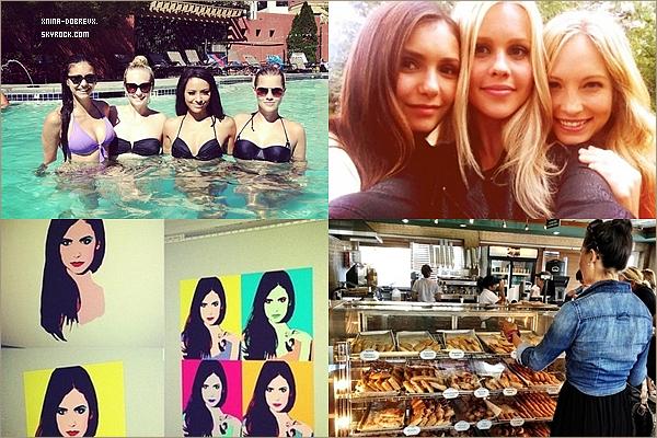 19/08        Nina se promenant à South Beach, Miami.