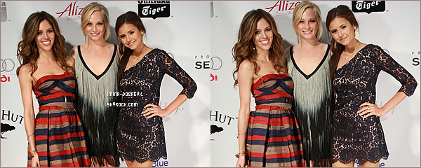 Flash-Back                 Le 7 juin 2009 Nina était au 11ème Anuel Hollywood Lifeyoung holywood awards.