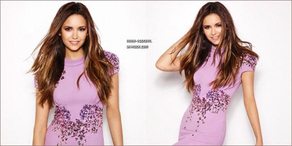 29/08        Nouveaux outtakes de Nina photoshoot Fashion Magazine.