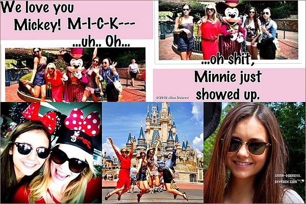 01/09        Nina, Candice & Keyla était à Disneyland en Floride.