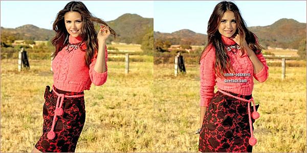 04/09        Nina dans le magazine de Seventeen pour le mois d'Octobre .