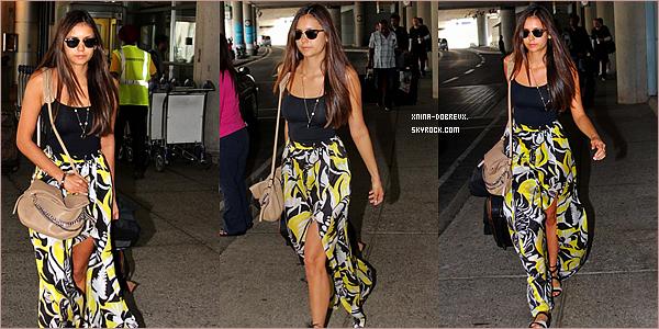 07/09        Nina à l'aéroport de Toronto .
