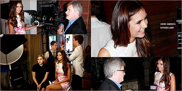 07/09        Nina était au Variety Studio toujours à Toronto.