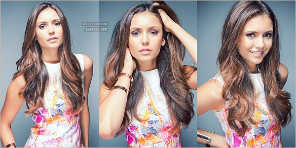 "21 Sept. Photoshoot de Nina pour ""The Endings"""