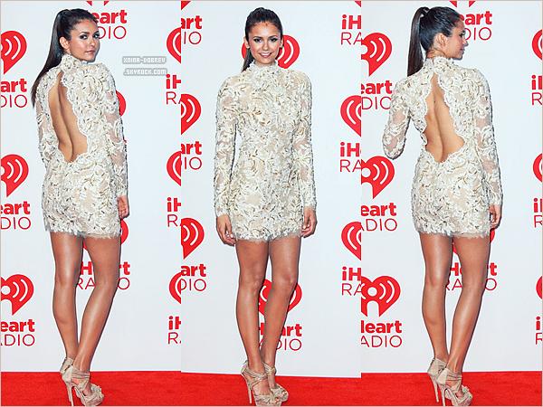 22 Sept.Nina était présente au Festival iHeartRadio à Las Vegas