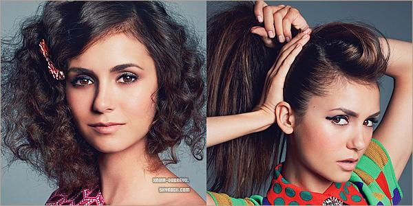 03 Oct.Nina fera en novembre l'affiche du magazine Glamour.
