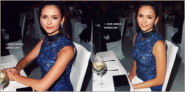 "15 Oct.  Nina s'est rendue à la 19éme Célébration ""Women In Hollywood"" à Beverly Hills."